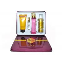 China Red Beauty Womens Fragrance Sets , Gift Set Perfume Set For Couple on sale