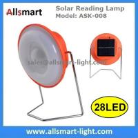 28LED Portable Solar Reading Desk Lamp Solar Camping Light LED Emergency Lantern Travel Tent Lighting Indoor Solar Light Manufactures