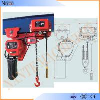 250kg - 50ton Manual Chain Hoists , Construction Wire Rope Electric Hoist Manufactures