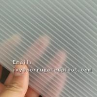 China High quality 3d lenticular pattern corrugated hard plastic acrylic sheet on sale