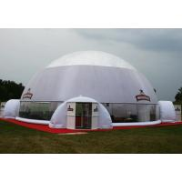 White Blue Dome PVC Tarpaulin Inflatable Party Tent With Any Kind Of Size Manufactures