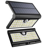 Foldable Solar Lights Outdoor 42LED,Motion Sensor IP65 Waterproof Solar Lights,Solar Security Light,LED Cmaping Lights
