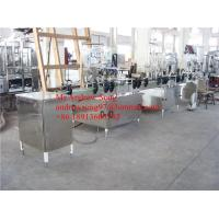 Economy Type Small Canned Drinks Filling Line / Making Plant Manufactures