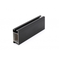 Buy cheap Polished Slide Rail GB /75237-2004 Aluminum Door Extrusions from wholesalers