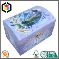 Fancy Custom Color Print Matte Hinged Lid Paper Cosmetics Gift Box with Metal Lock Manufactures