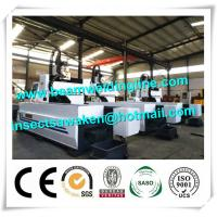 Steel Tube CNC Drilling And Tapping Machine, H Beam Welding Line Drilling Machine For Tube Manufactures