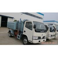 good price and high quality dongfeng side loader garbage truck for sale, hot sale best price 2017s garabge truck Manufactures
