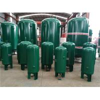 400 Gallon Vertical Industrial Compressed Air Receiver Tanks High Temperature Resistant Manufactures