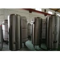 80 Gallon Stainless Steel Compressor Air / Gas Storage Tanks 1.0MPa Pressure Manufactures