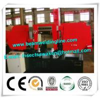 Horizontal Bandsaw Pipe Bevelling Machine For Structural Steel Fabricators Manufactures