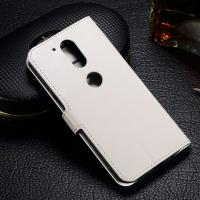 Quality Protective Soft Motorola Leather Case For Moto G4 / G4 Plus Flip Cover Folio Style for sale