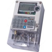 IR Optical Wireless Power Meter Two Wire Digital STS Prepayment Meter Manufactures