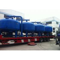 China High Flow Sand Filter Cleaner For Industrial , Automatic Control And High-Speed on sale
