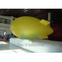 Quality Colorful Flowing Advertising Zeppelin / Inflatable Blimp for Trade Show CE for sale