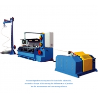 Aluminum Rod Breakdown Machine Wire Drawing Machine Inlet 9.5mm Outlet 1.7 To 3.5mm Manufactures