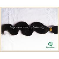 Hand tied weaviing Brazilian virgin remy hair,body wave hair extension no shed no tangle Manufactures
