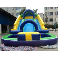 Interesting Customized Inflatable Products Outdoor Inflatable Water Slide For Kids Manufactures