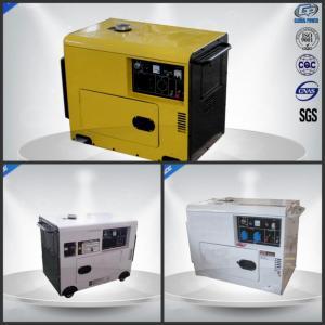 6.0 Kva Single Phase Silent Portable Generator  , Portable Silent Generator 4 Stroke Manufactures