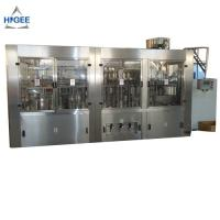 China 10 Capping Head Bottled Water Production Machine / Monoblock Filling And Capping Machine on sale