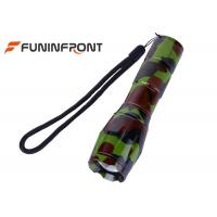 Quality CREE T6 Camouflage Zoom LED Flashlight for sale