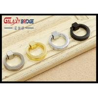 Gold Retro Ring Pulls chrome  Doo Handles Black Simple  Furniture  Hardware Fittings Manufactures