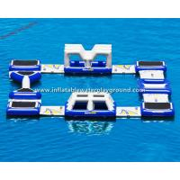 Outdoor Amusement Park Inflatable Water Games For Commercial Manufactures