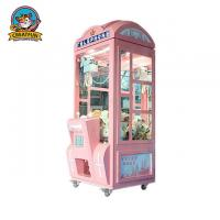 Telephone Crown Coin Operated Toy Vending Machines LED Light With Music Manufactures