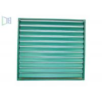 Quality Ventilated Fixed Aluminium Louvre Windows Easy Cleaning For Bathroom for sale