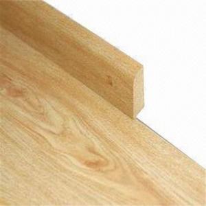 Laminate flooring molding, measures 2400x15x60mm Manufactures