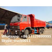 Quality factory direct sale best price dongfeng 6*4 210hp 16CBM Tipper, hot sale good for sale