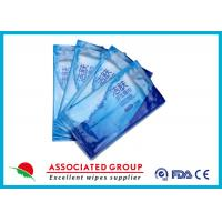 Individual Piece Wet wipes Restaurant Use Single Sheet Package Disinfected Wet Tissues Manufactures