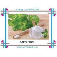 Buy cheap Pharmaceutical Grade Natural Botanical Extracts Colorless Crystals Menthol CAS from wholesalers