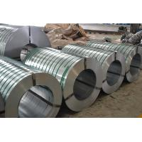 Zinc Coated Galvanised Steel  Strip , Bright Surface Galvanized Steel Tap,Higher Zinc Coating Manufactures