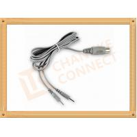 Din 5 Pin To 2.0 2 Pin Medial Tens Unit Cables For Surgical Monitor Manufactures