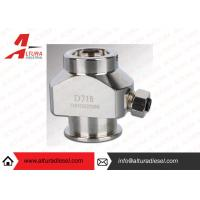 Silver Durable Injector Clamp Precise Denso Injector Adaptor D71B Manufactures