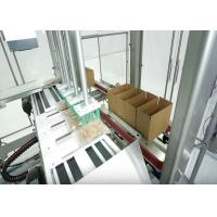 Automatic Case Packer With Carton Erector And Closer For Apparel / Clothes / Garment Manufactures
