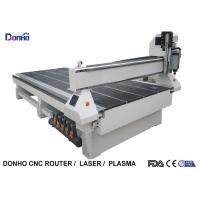 MDF Cutting 3 Axis CNC Router Engraver With Square Spindle Vacuum Table Manufactures