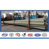 Quality 500kg Q345 Steel Electrical Power Pole With Long Life For Power Accessories for sale