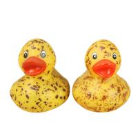 Kids Funny Bath Toy Mini Rubber Ducks Customized Yellow Vinyl Material Manufactures