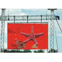 Rental Outdoor LED Display P6 , Commercial Advertising LED Video Wall SMD3535 Manufactures
