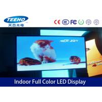 China Custom Large Full Color Indoor Advertising LED Display Screen PH 6mm , 1R1G1B / SMD3528 on sale
