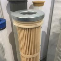 Nomex high temperature pleated filter cartridge DN 162x 2000mm height Manufactures