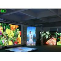 China P8.9 large RGB Floor full color indoor led display , 5 Years Warranty on sale