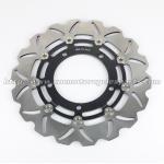 6061 Aluminum Motorcycle Brake Disc Suzuki DL V STROM 650 GSX650F Black Gold