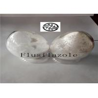 White Solid Flusilazole Fungicide , Broad Spectrum Fungicide High Purity Manufactures