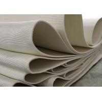 Polyester textile air slide fabric 4-8mm thickness, width 260mm used in bulky powder transport Manufactures