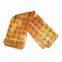 Silk Scarf with Full Color Printing, Available in Various Designs, Suitable for Ladies Manufactures