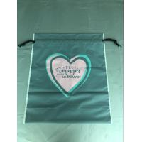 Cpe Personalized Drawstring Bags Environmental Protection Customized Color Manufactures