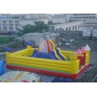 Big Slide Altman Theme Inflatable Amusement Park For Kids Baby Manufactures