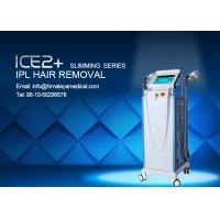 240VAC 3500W Power Hair Removal IPL Laser Equipment with three cooling systems Manufactures